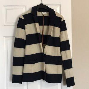 Ann Taylor Loft merino Wool Blazer sz Small